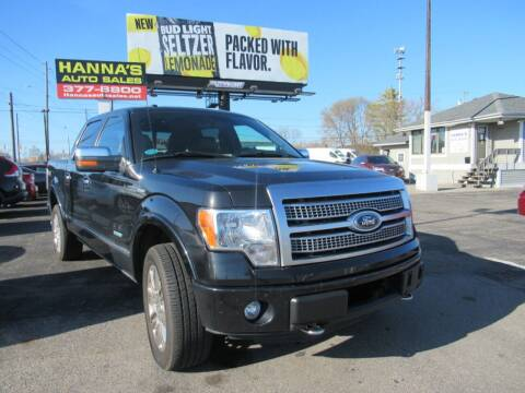 2012 Ford F-150 for sale at Hanna's Auto Sales in Indianapolis IN