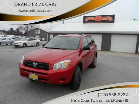 2008 Toyota RAV4 for sale at Grand Prize Cars in Cedar Lake IN