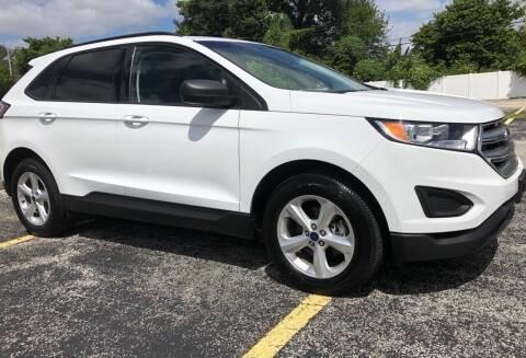 2017 Ford Edge for sale at Guru Auto Sales in Miramar FL