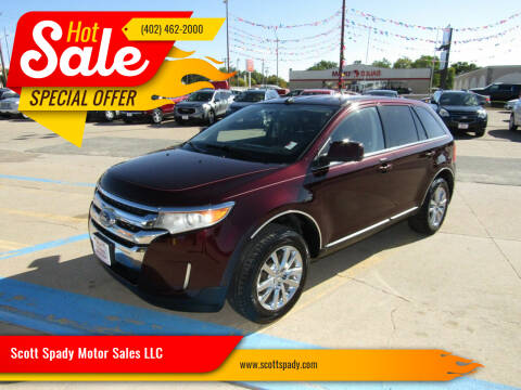 2011 Ford Edge for sale at Scott Spady Motor Sales LLC in Hastings NE