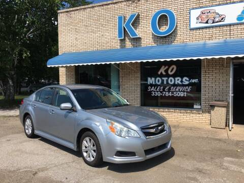 2012 Subaru Legacy for sale at K O Motors in Akron OH