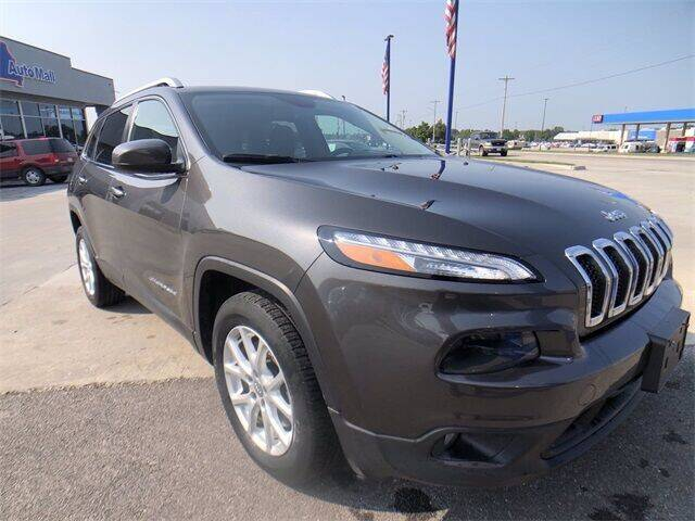 2014 Jeep Cherokee for sale at Show Me Auto Mall in Harrisonville MO