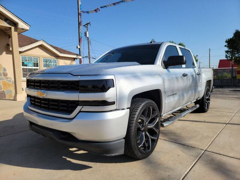 2018 Chevrolet Silverado 1500 for sale at Texas Premiere Autos in Amarillo TX