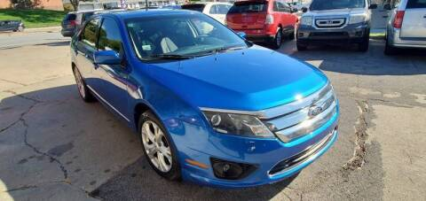 2012 Ford Fusion for sale at Divine Auto Sales LLC in Omaha NE