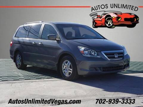 2007 Honda Odyssey for sale at Autos Unlimited in Las Vegas NV