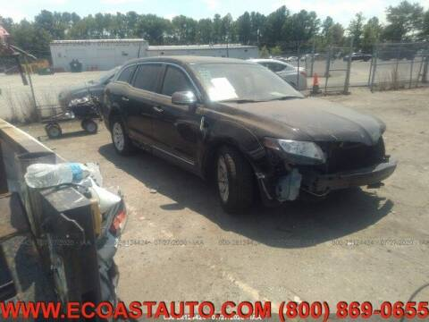 2016 Lincoln MKT Town Car for sale at East Coast Auto Source Inc. in Bedford VA