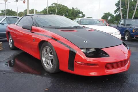 1997 Chevrolet Camaro for sale at Dream Machines USA in Lantana FL