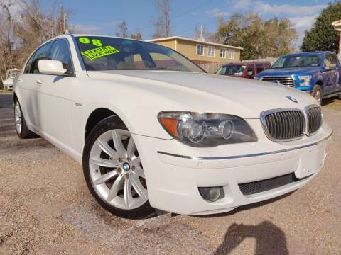 2008 BMW 7 Series for sale at The Auto Connect LLC in Ocean Springs MS