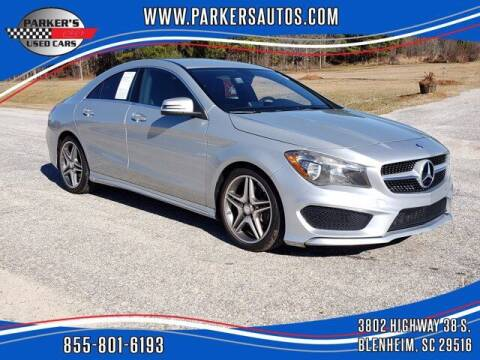 2014 Mercedes-Benz CLA for sale at Parker's Used Cars in Blenheim SC