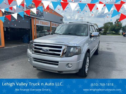 2011 Ford Expedition EL for sale at Lehigh Valley Truck n Auto LLC. in Schnecksville PA