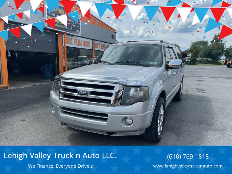 2011 Ford Expedition EL for sale in Schnecksville, PA
