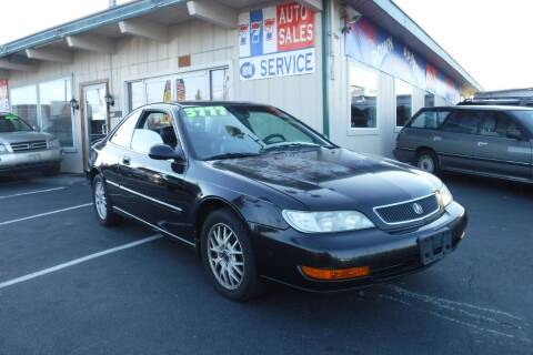 1999 Acura CL for sale at 777 Auto Sales and Service in Tacoma WA
