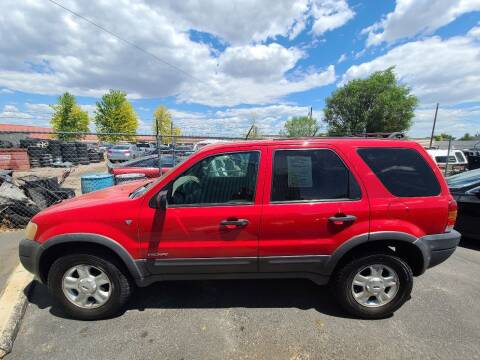 2001 Ford Escape for sale at HUM MOTORS in Caldwell ID