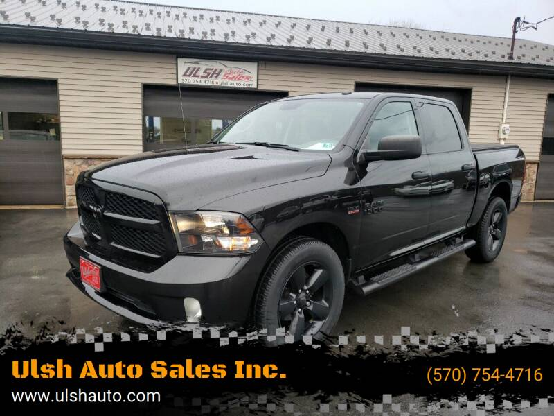 2016 RAM Ram Pickup 1500 for sale at Ulsh Auto Sales Inc. in Summit Station PA