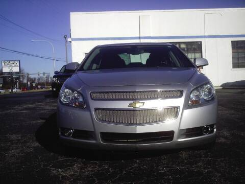 2011 Chevrolet Malibu for sale at STAPLEFORD'S SALES & SERVICE in Saint Georges DE