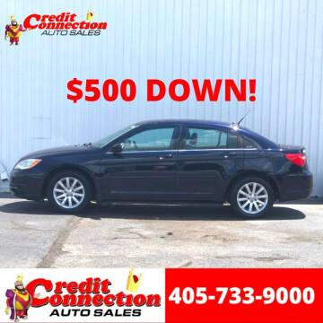2011 Chrysler 200 for sale at Credit Connection Auto Sales in Midwest City OK