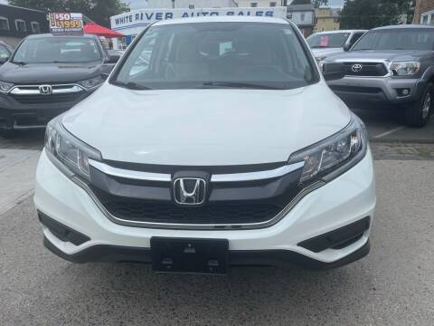 2016 Honda CR-V for sale at White River Auto Sales in New Rochelle NY