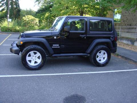2017 Jeep Wrangler for sale at Western Auto Brokers in Lynnwood WA