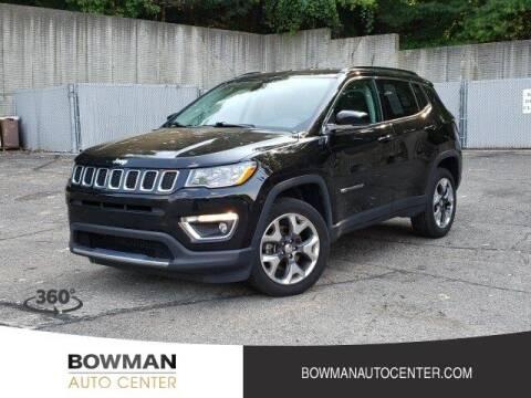 2020 Jeep Compass for sale at Bowman Auto Center in Clarkston MI