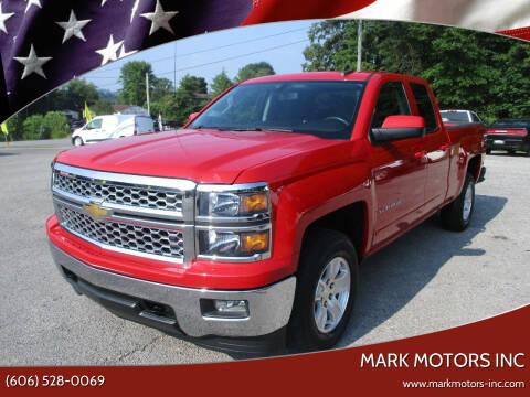 2015 Chevrolet Silverado 1500 for sale at Mark Motors Inc in Gray KY