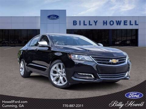 2018 Chevrolet Impala for sale at BILLY HOWELL FORD LINCOLN in Cumming GA