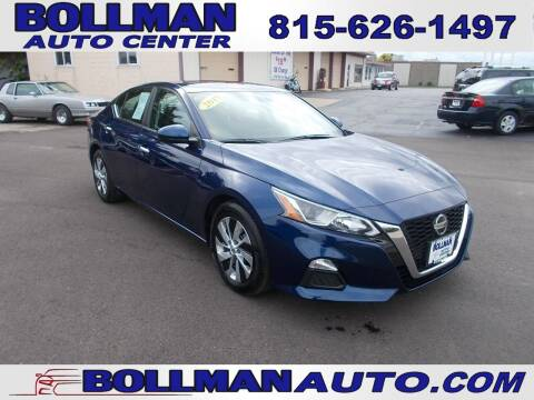 2019 Nissan Altima for sale at Bollman Auto Center in Rock Falls IL
