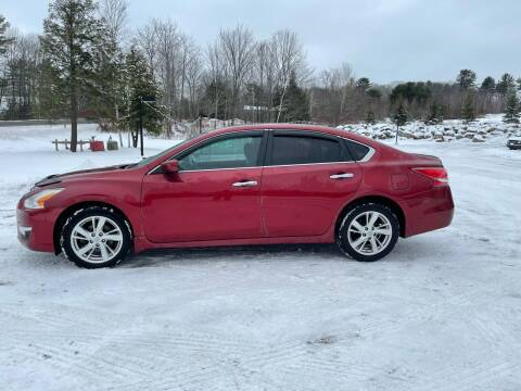 2013 Nissan Altima for sale at Hart's Classics Inc in Oxford ME