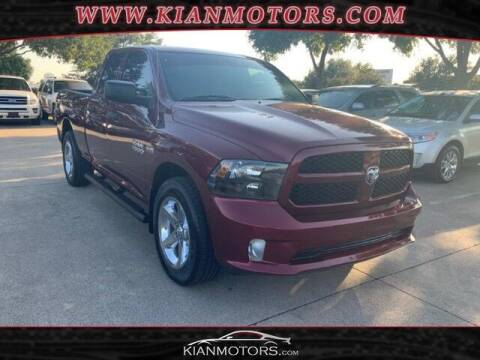 2017 RAM Ram Pickup 1500 for sale at KIAN MOTORS INC in Plano TX