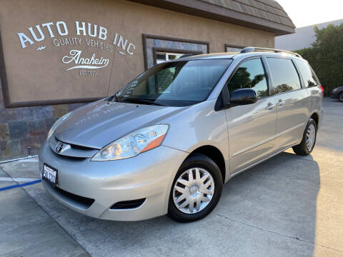 2006 Toyota Sienna for sale at Auto Hub, Inc. in Anaheim CA