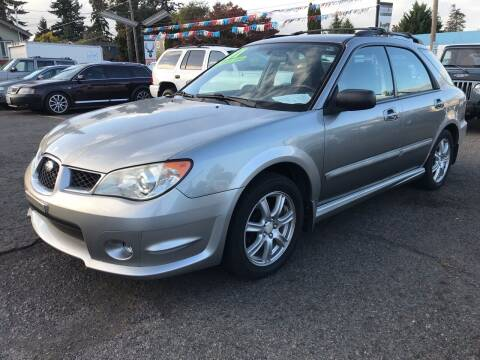 2007 Subaru Impreza for sale at Stag Motors in Portland OR