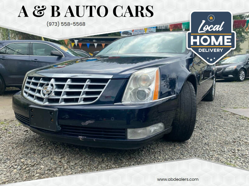 2009 Cadillac DTS for sale at A & B Auto Cars in Newark NJ