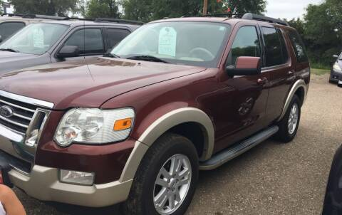2009 Ford Explorer for sale at BARNES AUTO SALES in Mandan ND