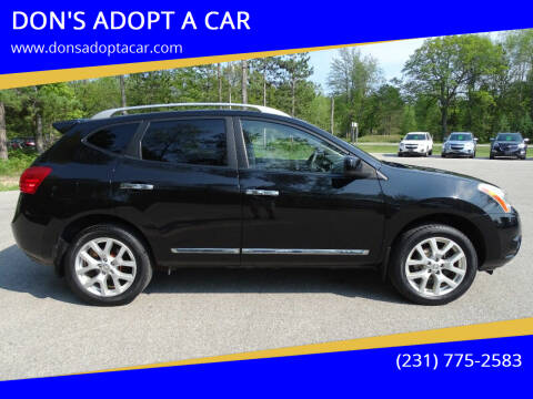 2013 Nissan Rogue for sale at DON'S ADOPT A CAR in Cadillac MI