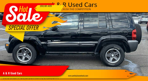 2004 Jeep Liberty for sale at A & R Used Cars in Clayton NJ