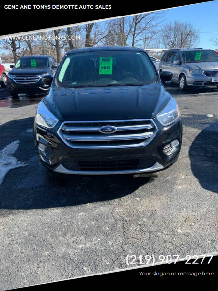 2017 Ford Escape for sale at GENE AND TONYS DEMOTTE AUTO SALES in Demotte IN