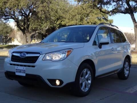 2014 Subaru Forester for sale at 123 Car 2 Go LLC in Dallas TX
