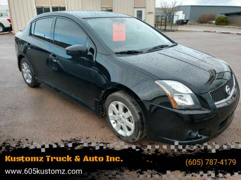 2012 Nissan Sentra for sale at Kustomz Truck & Auto Inc. in Rapid City SD