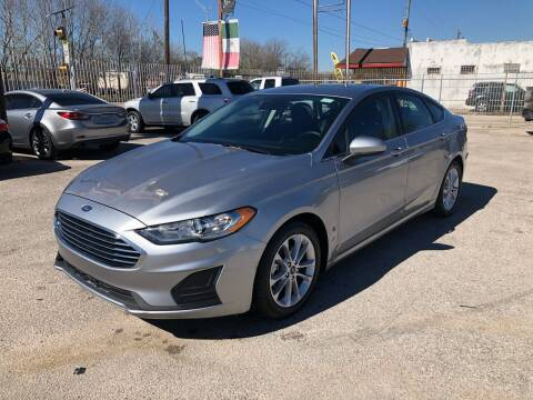 2020 Ford Fusion for sale at Saipan Auto Sales in Houston TX