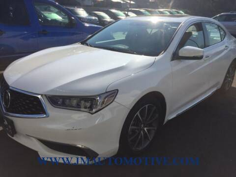 2018 Acura TLX for sale at J & M Automotive in Naugatuck CT