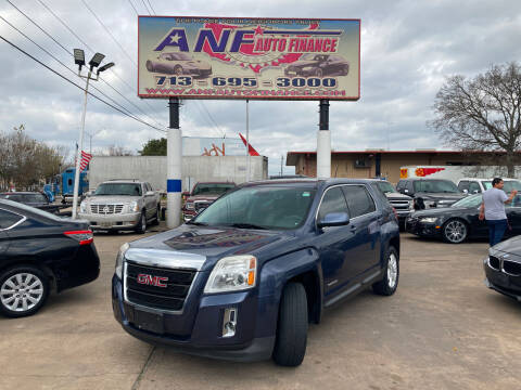 2014 GMC Terrain for sale at ANF AUTO FINANCE in Houston TX