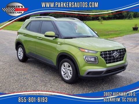 2020 Hyundai Venue for sale at Parker's Used Cars in Blenheim SC