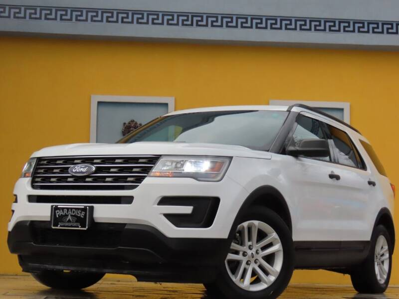 2016 Ford Explorer for sale at Paradise Motor Sports LLC in Lexington KY