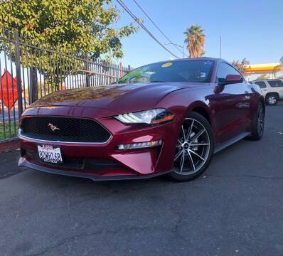 2018 Ford Mustang for sale at LUGO AUTO GROUP in Sacramento CA