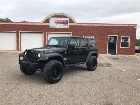 2012 Jeep Wrangler Unlimited for sale at Family Auto Finance OKC LLC in Oklahoma City OK