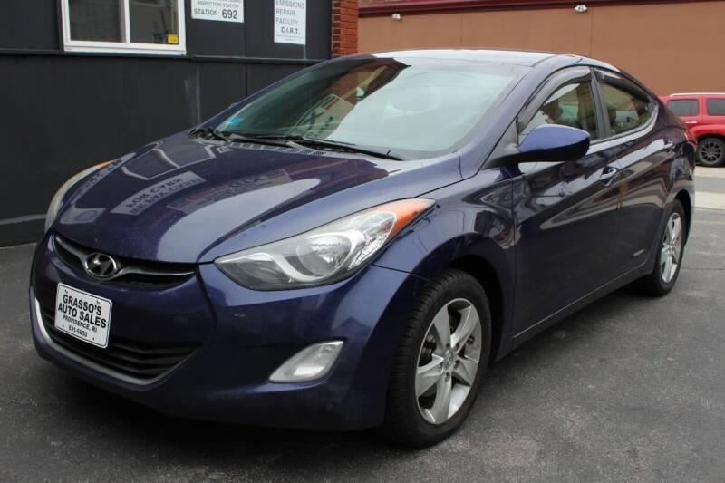 2012 Hyundai Elantra for sale at Grasso's Auto Sales in Providence RI