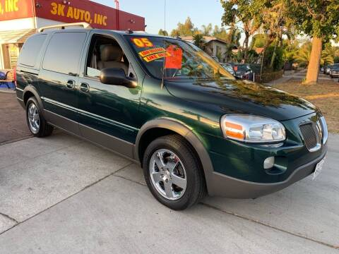 2005 Pontiac Montana SV6 for sale at 3K Auto in Escondido CA