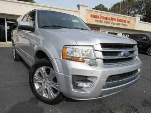 2015 Ford Expedition EL for sale at North Georgia Auto Brokers in Snellville GA