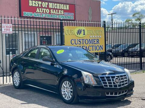 2013 Cadillac CTS for sale at Best of Michigan Auto Sales in Detroit MI