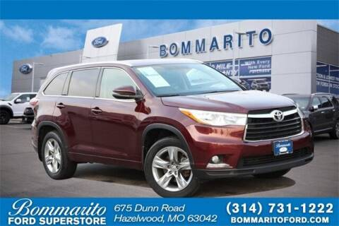 2014 Toyota Highlander for sale at NICK FARACE AT BOMMARITO FORD in Hazelwood MO