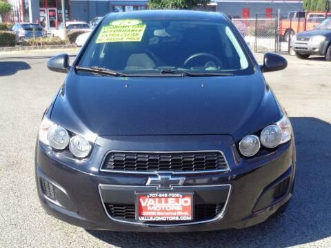 2015 Chevrolet Sonic for sale at Vallejo Motors in Vallejo CA